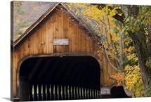 Woodstock Middle Bridge, Woodstock, Vermont USA