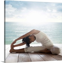 Yoga: Janusirsasana (Head to Knee Pose)