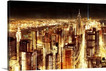 Manhattan Panoramic Nocturne