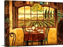 Romantic Dinner in Tuscany