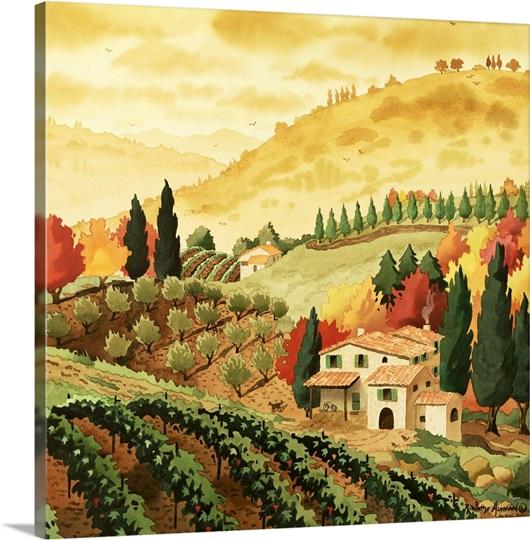 Tuscan Serenity Ii Photo Canvas Print Great Big Canvas
