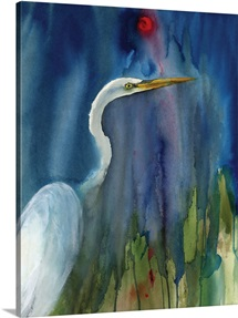 Great Egret Blue