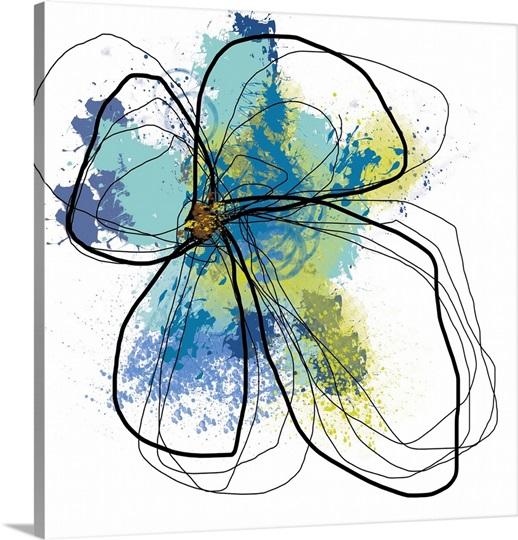 Azure Petals