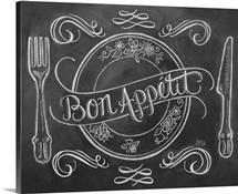 Bon Appetit Handlettering