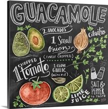 Guacamole Handlettering