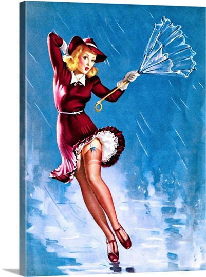 Thick pin up girl