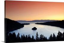 California-Nevada, Lake Tahoe, Emerald Bay