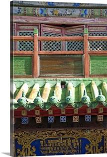 Mongolia, Ulaanbaatar, Bogd Khann Palace and Museum