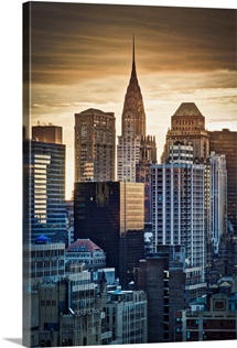 New York, Manhattan, Midtown, Chrysler Building