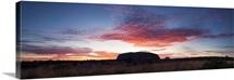 Uluru Kata Tjuta national park, Northern Territory, Australia. Uluru at sunrise