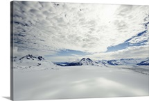 An Ocean of Snow and Clouds; Columbial Glacier, Valdez, Alaska