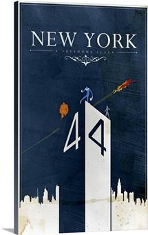 New York 4 Freedoms Plaza