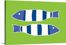 Picket Fish lime green