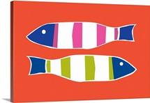 Picket Fish persimmon horizontal