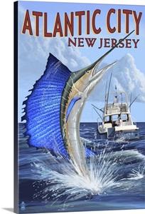 Atlantic city new jersey sailfish deep sea fishing for Deep sea fishing atlantic city