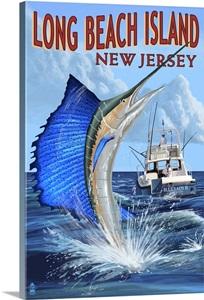 Long beach island new jersey sailfish deep sea fishing for Long beach deep sea fishing
