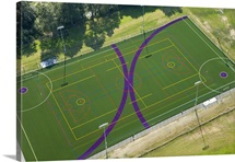 Lacrosse Field, University of Washington, Seattle, Washington - Aerial Photograph