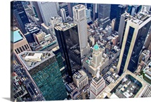 Midtown, Manhattan, New York City - Aerial Photograph