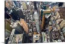 Midtown, Manhattan, New York City - Aerial Photograph