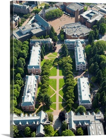 University of Washington Campus, Seattle, Washington - Aerial Photograph