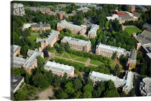 University of Washington, Seattle, WA - Aerial Photograph