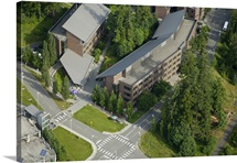 University of Washington's Bothell Campus, WA State, USA - Aerial Photograph