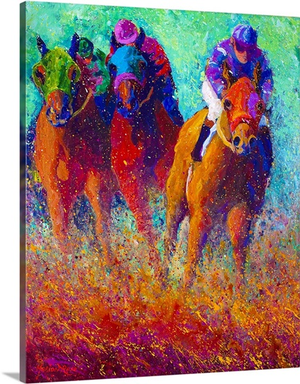 Thundering Hooves Photo Canvas Print Great Big Canvas