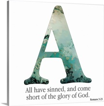 Bible Verse Alphabet - A