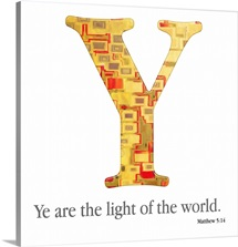 Bible Verse Alphabet - Y