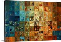 Modern Tile Art #11, 2009