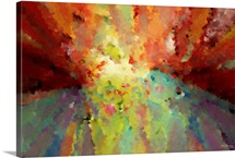 Wind of Change. Big Painting Modern Decor Collection