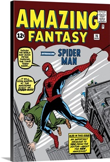 Amazing Fantasy (Introducing Spider Man)