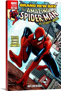 Brand New Day The Amazing Spider-Man It Starts Here