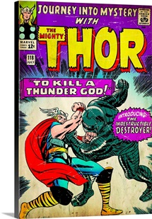 Journey Into Mystery With The Mighty Thor (To Kill A Thunder God!)
