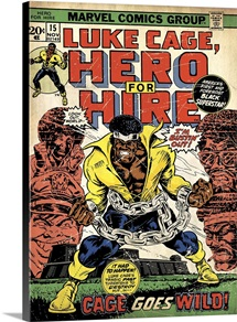 Luke Cage, Hero For Hire (Cage Goes Wild!)
