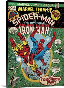 Spider-Man And The Invincible Iron Man (...The Tomorrow War!)