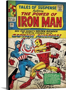 Tales Of Suspense Featuring The Power Of Iron Man (Captain America)