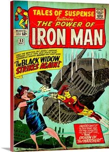 Tales Of Suspence Featuring The Power Of Iron Man (The Black Widow Strikes Again!)
