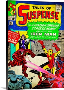 Tales Of Suspence, Iron Man (The Crimson Dynamo Strikes Again!)