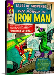 Tales Of Suspense Featuring The Power Of Iron Man (Mandarin's Revenge!)