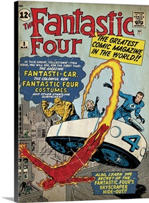 The Fantastic Four (The Greatest Comic Magazine In The World!)