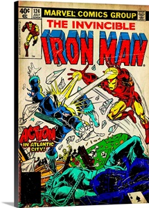 The Invincible Iron Man (Action In Atlantic City!)