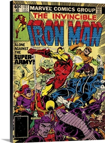 The Invincible Iron Man (Alone Against The Super-Army!)