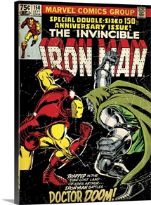 The Invincible Iron Man (Iron Man Battles Doctor Doom)