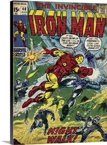 The Invincible Iron Man ( Night Walk!)