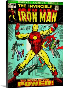 The Invincible Iron Man (The Birth Of The Power!)