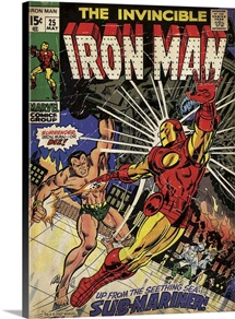 The Invincible Iron Man (The Sub-Mariner!)