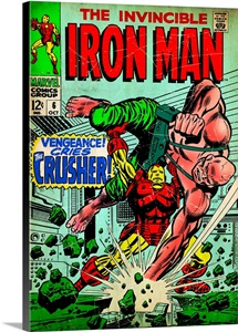 The Invincible Iron Man (Vengeance! Cries The Crusher!)