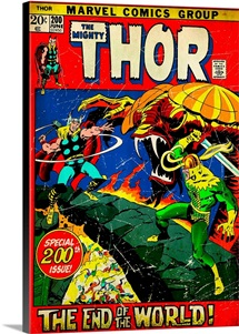 The Mighty Thor (The End Of The World!)