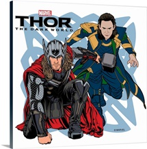 Thor: The Dark World - Thor and Loki